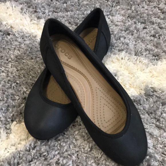 klart Höna invände  CROCS Shoes | Womens Black Marin Colorlite Flat Size 95 | Poshmark
